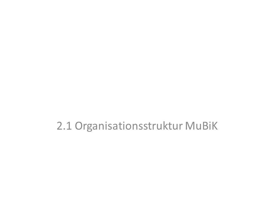2.1 Organisationsstruktur MuBiK