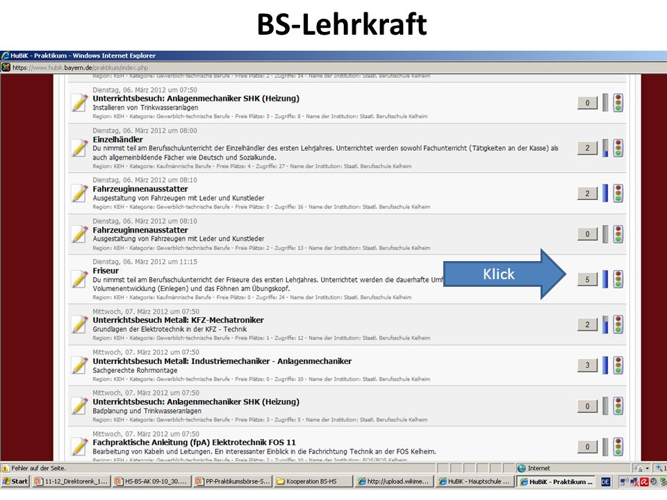 BS-Lehrkraft Klick