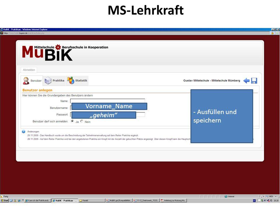 MS-Lehrkraft - Ausfüllen und speichern Vorname_Name geheim