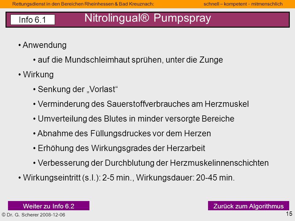 © Dr. G. Scherer 2008-12-06 Rettungsdienstbereich Mainz Schnell-kompetent-mitmenschlich Rettungsdienst in den Bereichen Rheinhessen & Bad Kreuznach: s