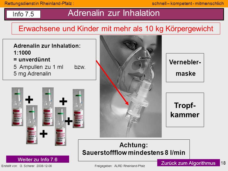 Rettungsdienst in Rheinland-Pfalz : schnell – kompetent - mitmenschlich Erstellt von: G. Scherer 2008-12-06Freigegeben: ÄLRD Rheinland-Pfalz 18 Verneb