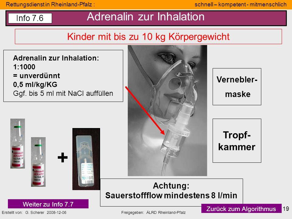 Rettungsdienst in Rheinland-Pfalz : schnell – kompetent - mitmenschlich Erstellt von: G. Scherer 2008-12-06Freigegeben: ÄLRD Rheinland-Pfalz 19 Verneb