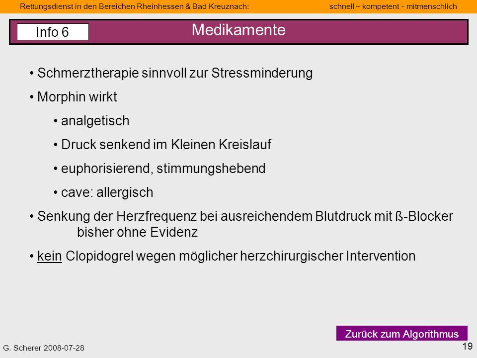 G. Scherer 2008-07-28 Rettungsdienstbereich Mainz Schnell-kompetent-mitmenschlich Rettungsdienst in den Bereichen Rheinhessen & Bad Kreuznach: schnell
