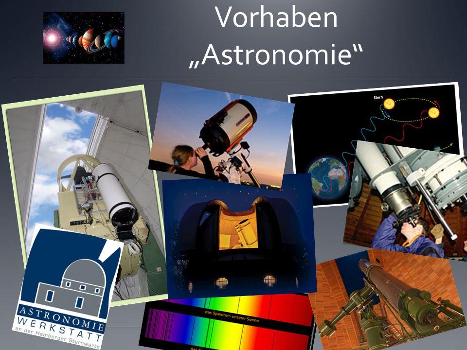 Vorhaben Astronomie
