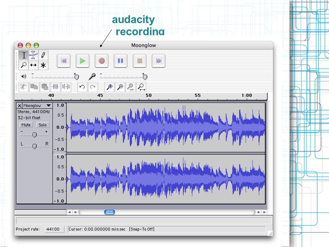 audacity output input volumevolume