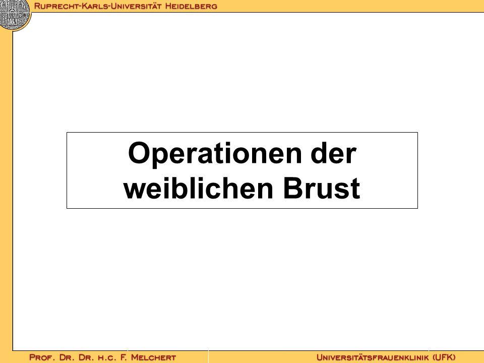 Operationen der weiblichen Brust
