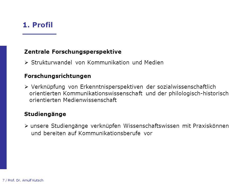 18 / Prof.Dr. Arnulf Kutsch 3. B.A.