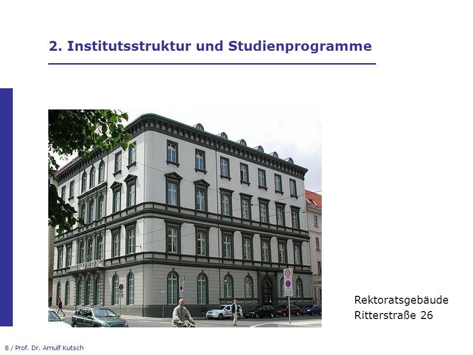 29 / Prof.Dr. Arnulf Kutsch Kontakt Univ.-Prof. Dr.