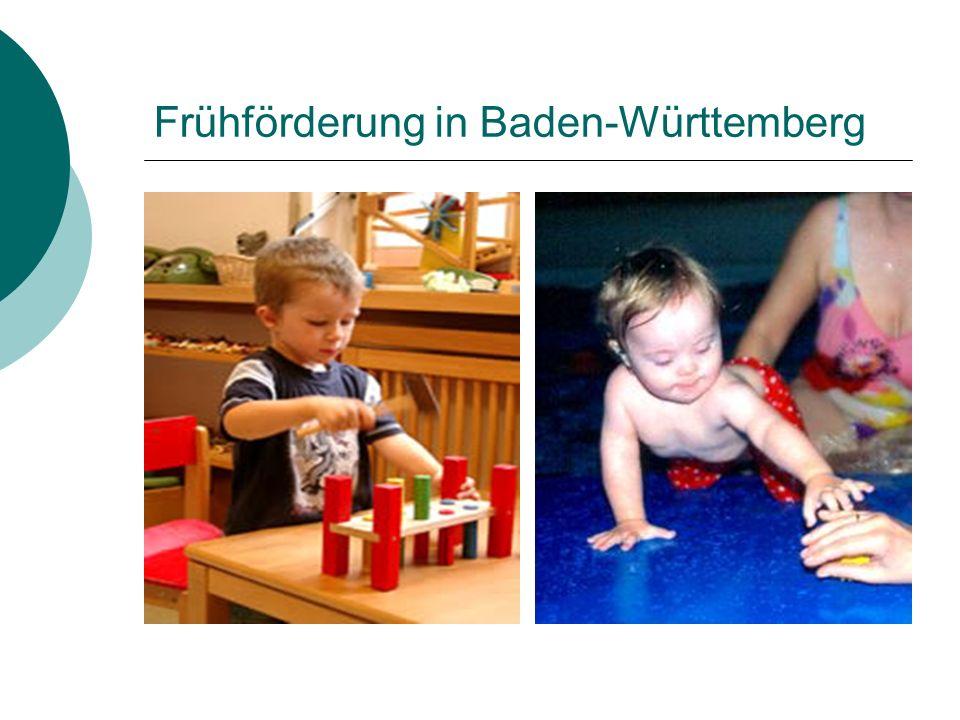 Versorgung in Baden-Württemberg Sonderpädagogische Beratungsstellen an Sonderschulen des Landes (seit 1971) Rahmenkonzeption (1983, 1993, 1998) 332 Sonderpädagogische Beratungsstellen Entfernung < 30 Min.