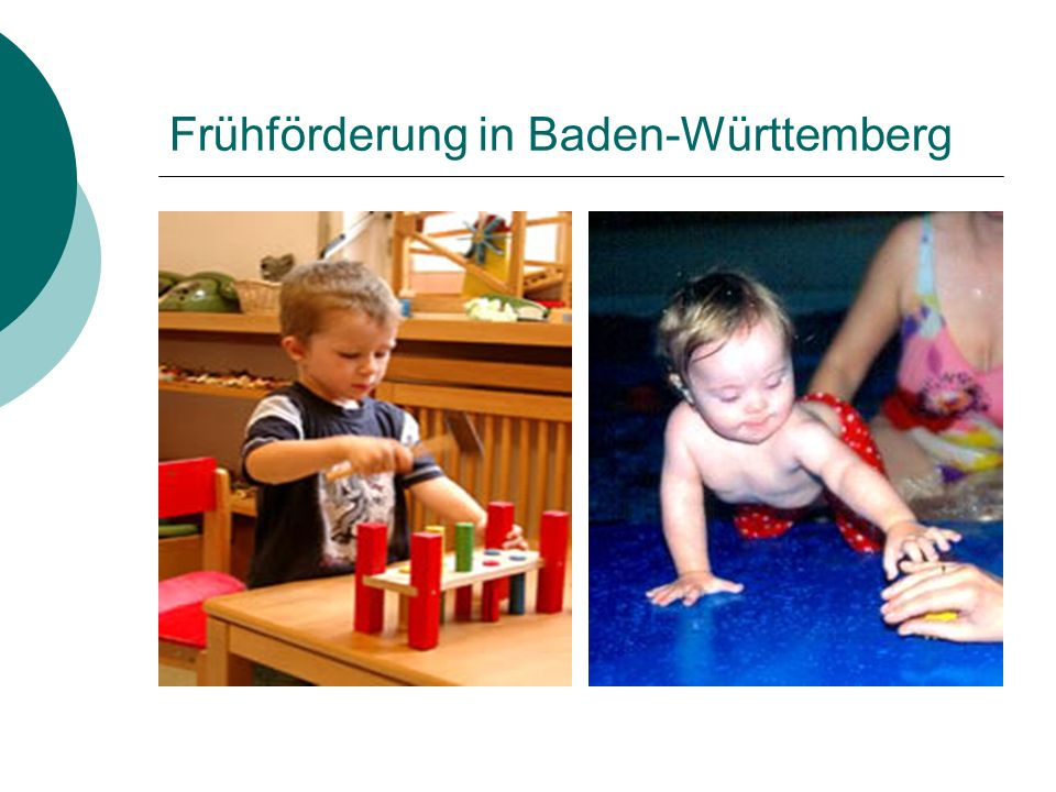 Frühförderung in Baden-Württemberg
