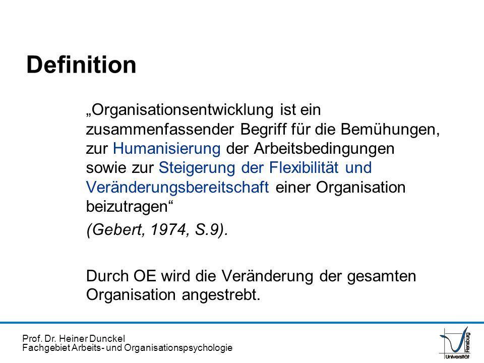 Prof.Dr. Heiner Dunckel Fachgebiet Arbeits- und Organisationspsychologie ?..