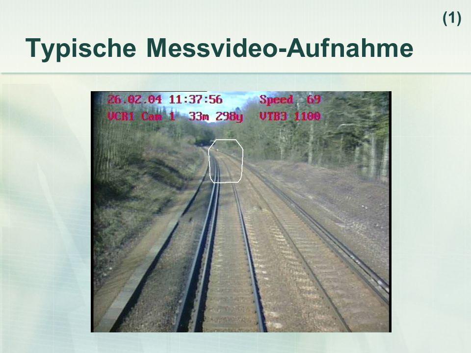 Typische Messvideo-Aufnahme (1)