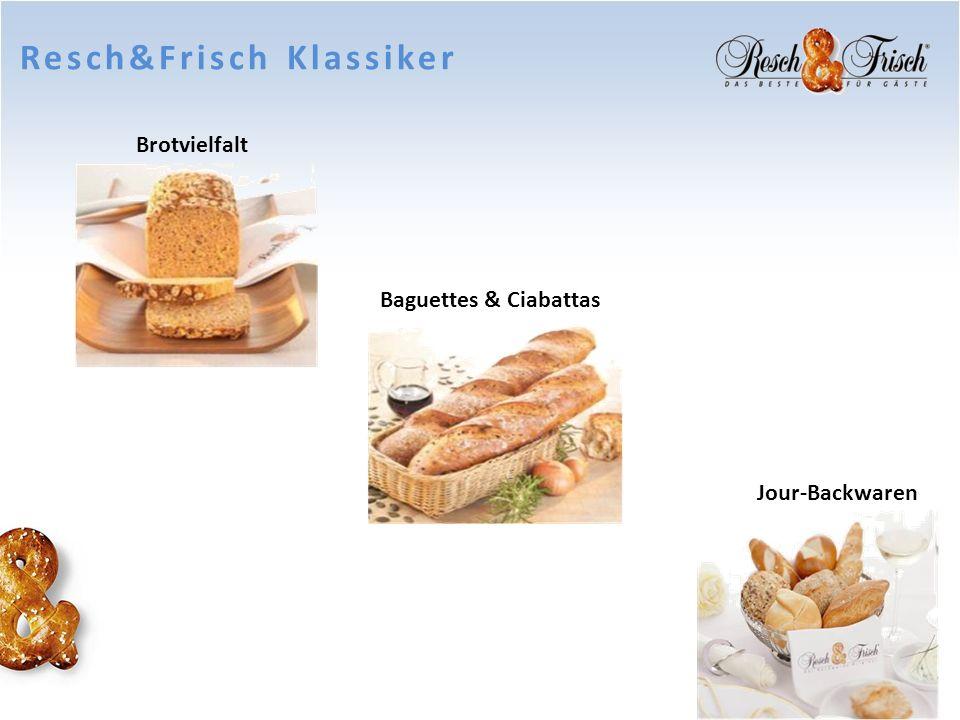 Resch&Frisch Klassiker Jour-Backwaren Baguettes & Ciabattas Brotvielfalt