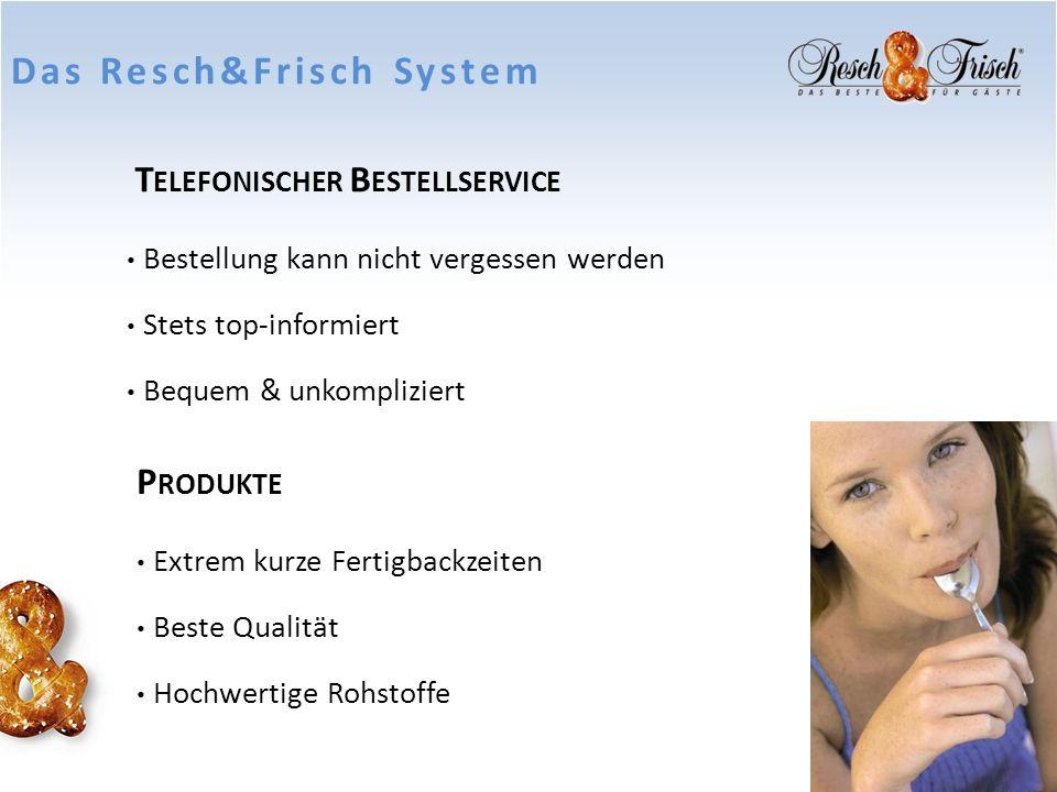 Jausenprodukte Resch&Frisch Jausen- & Snacksortiment Snacks