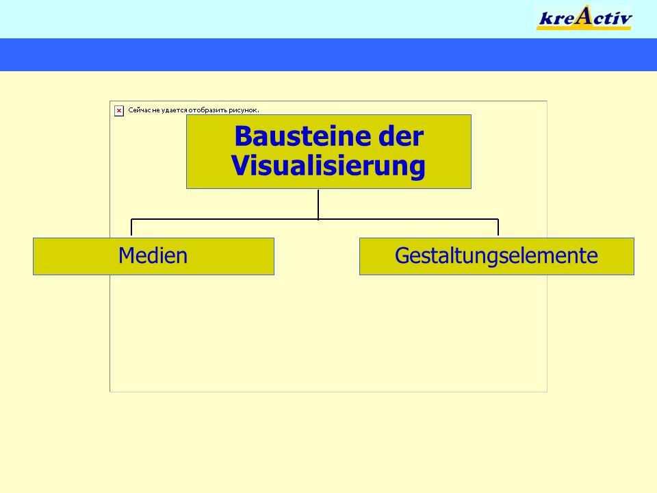 Bausteine der Visualisierung GestaltungselementeMedien