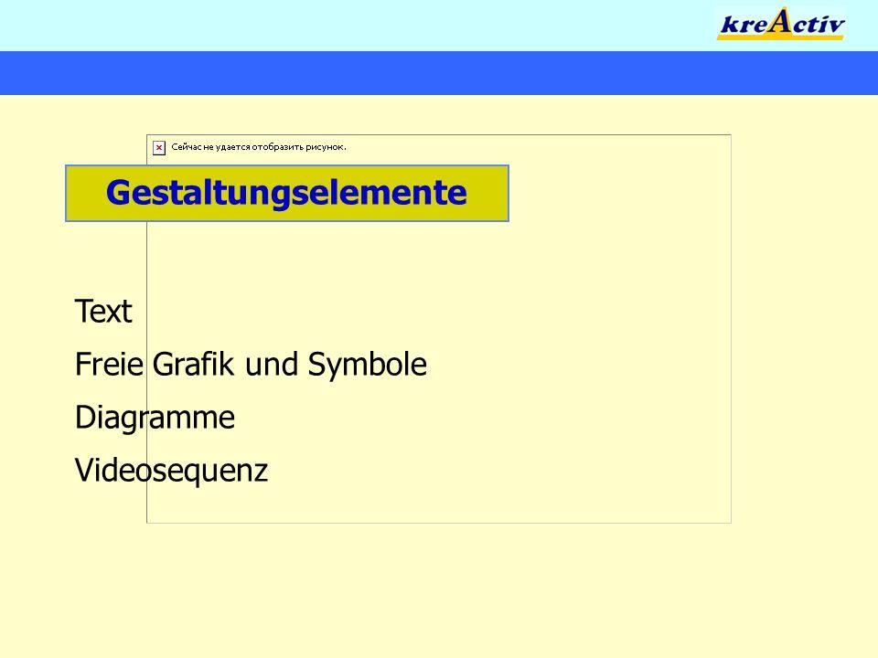 Gestaltungselemente Text Freie Grafik und Symbole Diagramme Videosequenz