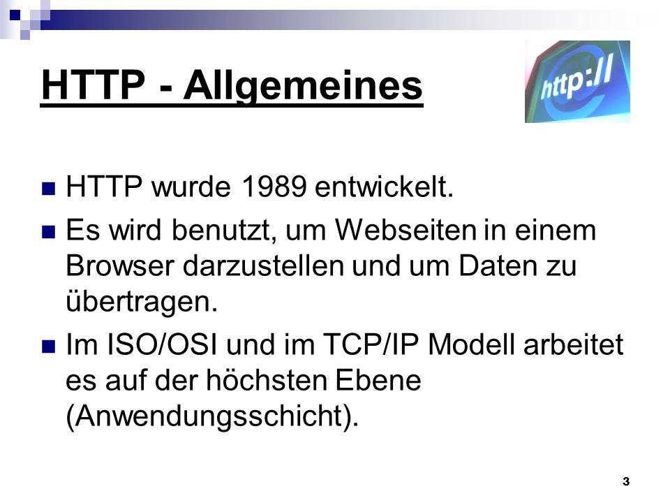 4 HTTP - Befehle GET – Inhalte vom Server anfordern POST – wie GET, aber zusätzlich ein Datenblock HEAD – nur der Header wird gesendet (Gültigkeitsprüfung) PUT – Daten auf einen Server laden DELETE – Datei auf dem Server löschen