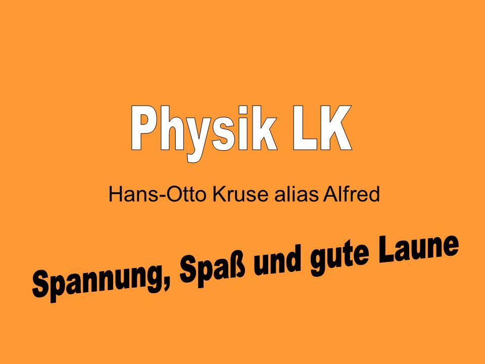 Hans-Otto Kruse alias Alfred
