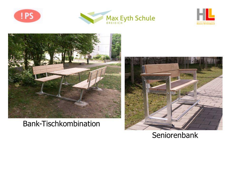 Bank-Tischkombination Seniorenbank