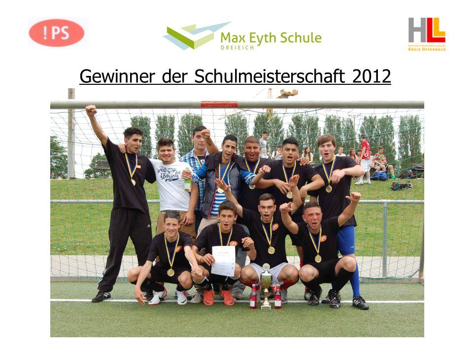 Gewinner der Schulmeisterschaft 2012