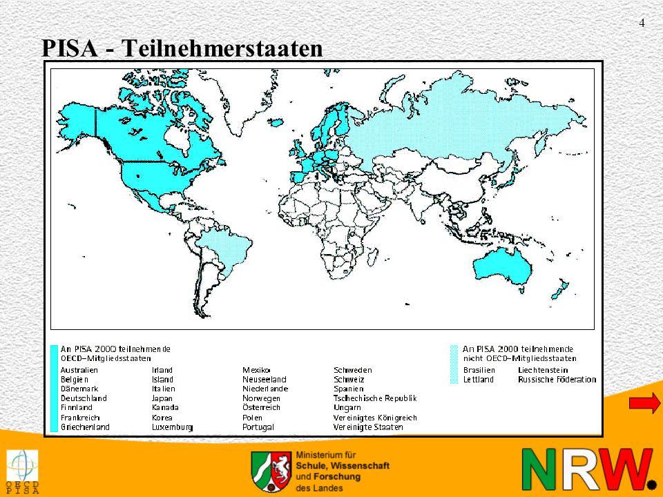55 Umgangssprache in FamilieStaat Lesekompe- tenz Sozialschicht 2 Lesekompe- tenz Sozialschicht 2 389 (12,7)35,6 (1,6)434 (12,5)37,1 (1,1)Österreich 421 (14,7)40,9 (2,1)416 (8,8)36,6 (1,2)Schweiz 436 (11,7)43,7 (2,5)445 (10,4)41,5 (2,6)Schweden 444 (19,7)46,7 (3,4)449 (17,2)44,9 (3,2)Norwegen 360 (20,1)33,6 (1,0)408 (31,1)42,9 (3,8)Deutschland Türkisch/kurdischSerbisch/kroatisch/bosnisch 1 Mittelwerte und Standardfehler in Klammern 2 Höchster sozioökonomischer Status der Familie (HISEI) Leseleistungen und Sprachhintergrund im Ländervergleich 1