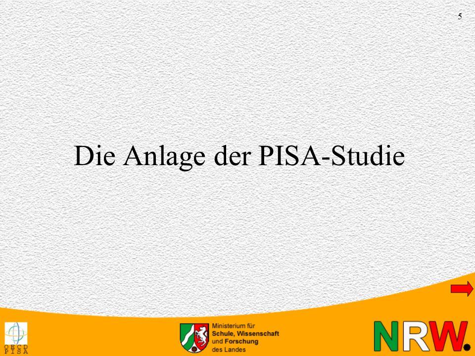 16 Hintergrundinformationen Theoretische Struktur der Lesekompetenz in PISA