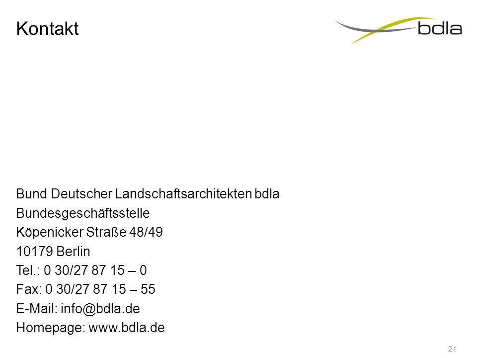 Veranstaltungen und Events Verleihung des Deutschen Landschaftsarchitektur-Preises mit Buchdokumentation Veranstaltungsreihe Gartenwelten bdla-Bauleit