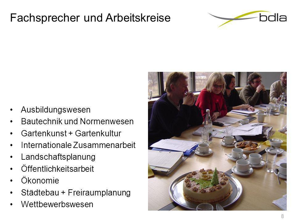 Präsidium Präsidentin Andrea Gebhard, München Vizepräsidentin Kerstin Berg, Hamburg Schatzmeister Christof Luz, Stuttgart Beisitzerin Almut Jirku, Ber
