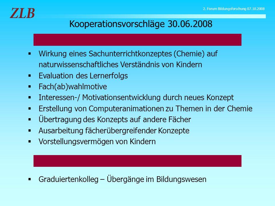 Wirkung eines Sachunterrichtkonzeptes (Chemie) auf naturwissenschaftliches Verständnis von Kindern Evaluation des Lernerfolgs Fach(ab)wahlmotive Inter