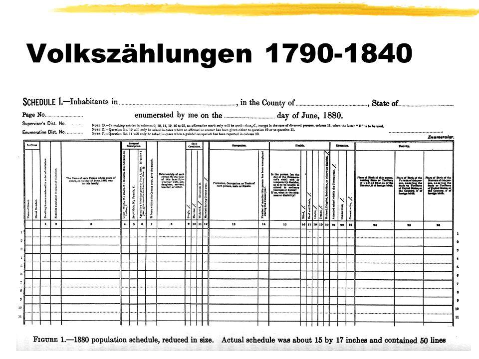 Jörg Dieckmann: Über die Hollerith-Maschinen Abb. eines Zählformulars