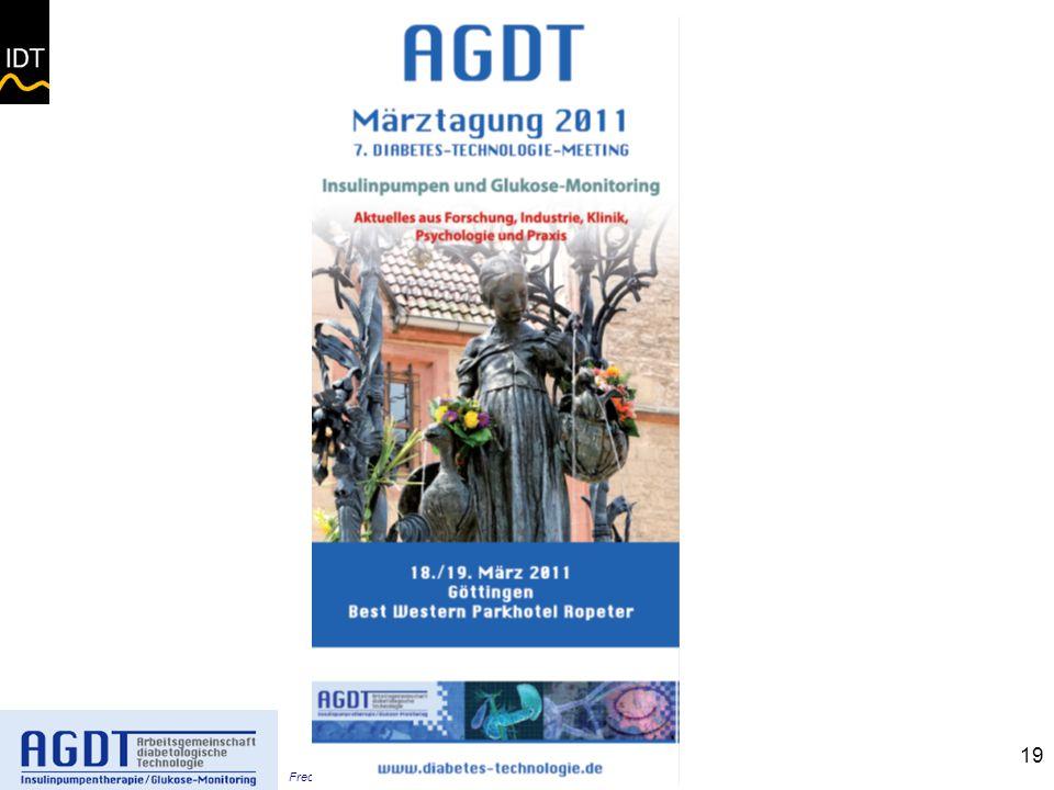 Freckmann – Glucoseanalytik 2011 -Göttingen 18.03.11 19