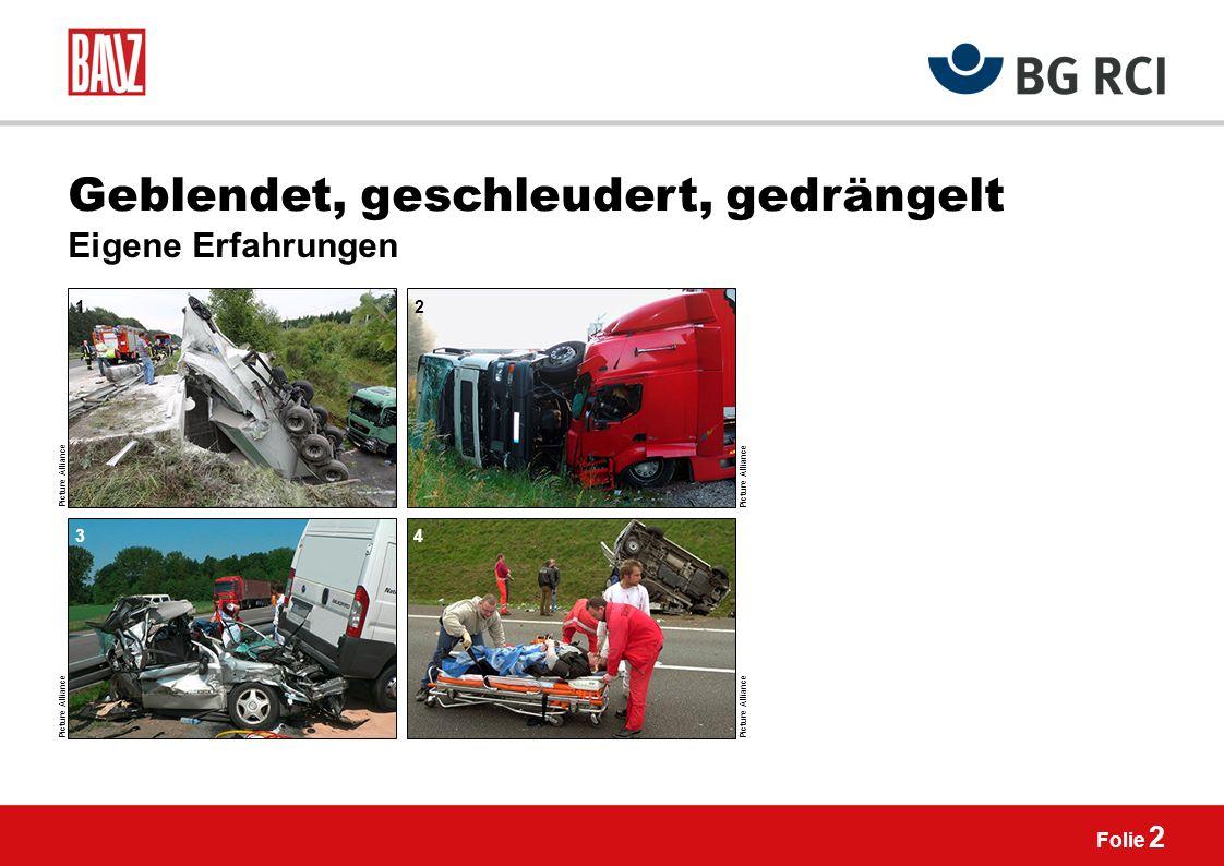 Der Tod fährt mit Unfallrisiken beim Unterwegssein mit Pkw, Lkw, Transporter Folie 1 Picture Alliance 1 2 43