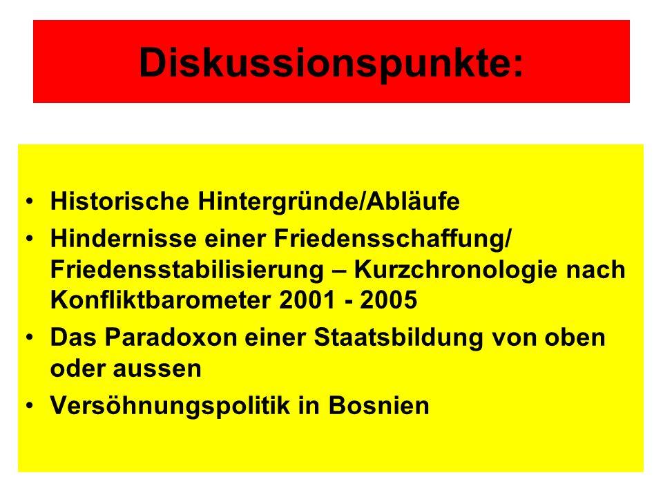 Diskussionspunkte (2): Populäre Annahmen & ihre Widerlegung: Eine geteilte Geschichte ?.