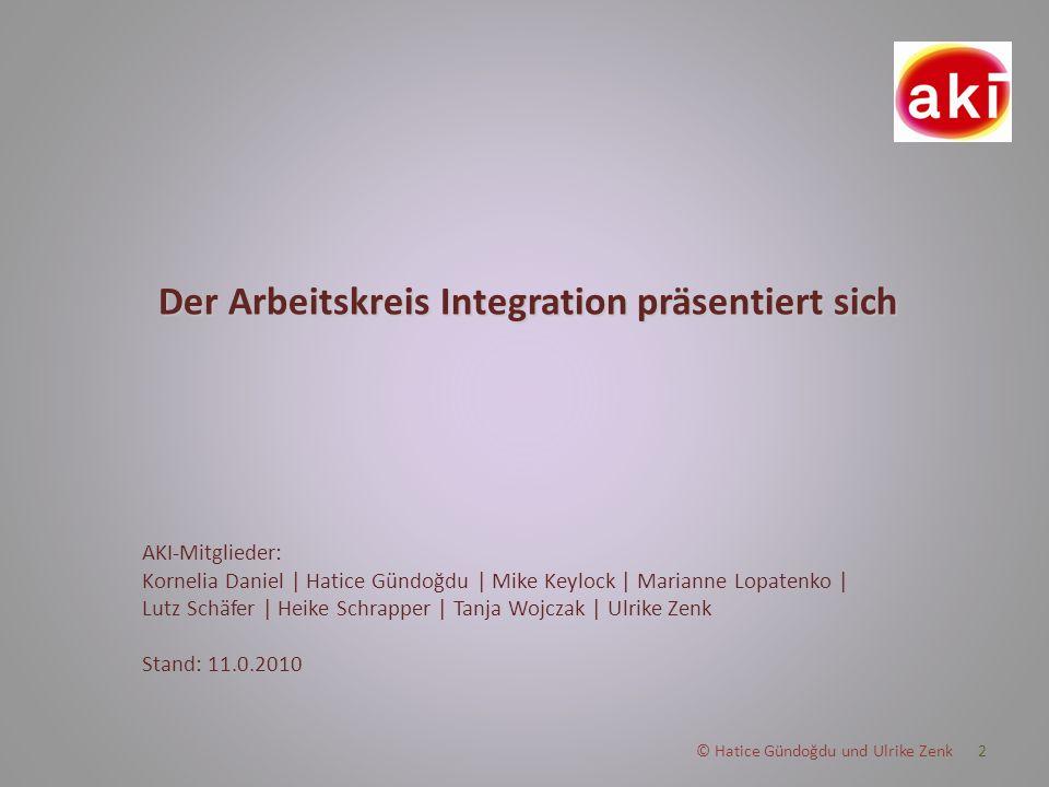 3 Integration ist ein Schulgesetz.Integration heißt Vielfalt.