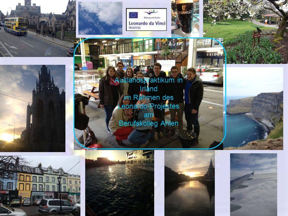 Cork zweitgrößte Stadt der Republik Irland 71.000 Einwohner St. Patricks Street
