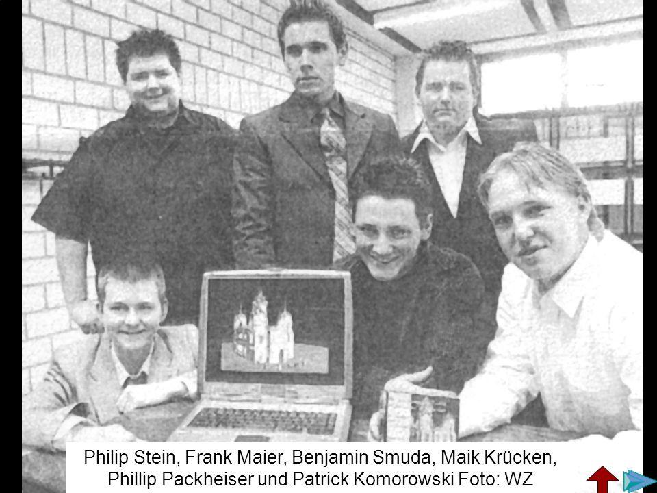 Philip Stein, Frank Maier, Benjamin Smuda, Maik Krücken, Phillip Packheiser und Patrick Komorowski Foto: WZ