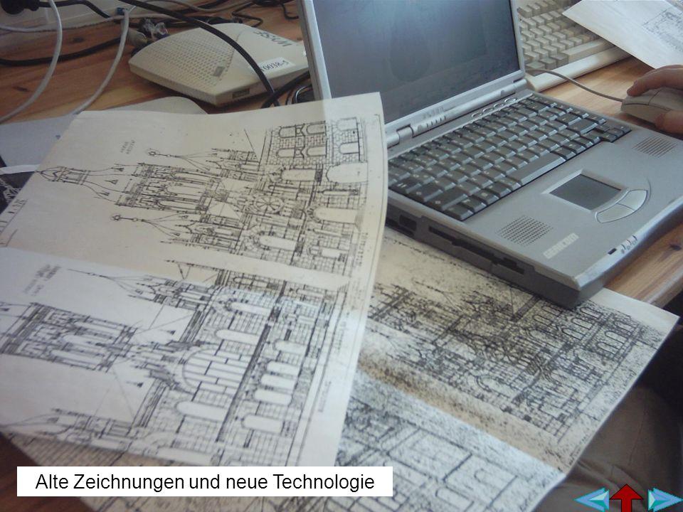Alte Zeichnungen und neue Technologie