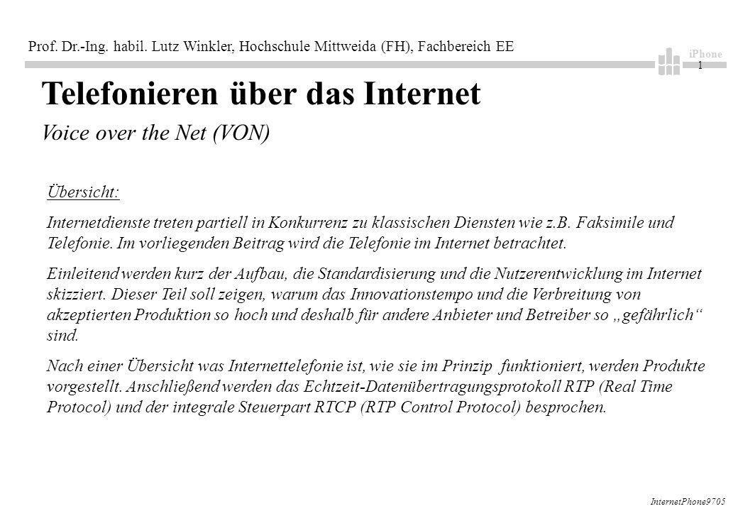 iPhone 1 Prof. Dr.-Ing. habil.