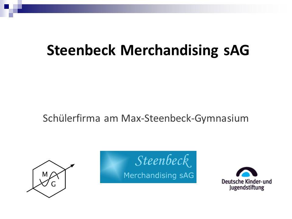 Steenbeck Merchandising sAG Schülerfirma am Max-Steenbeck-Gymnasium