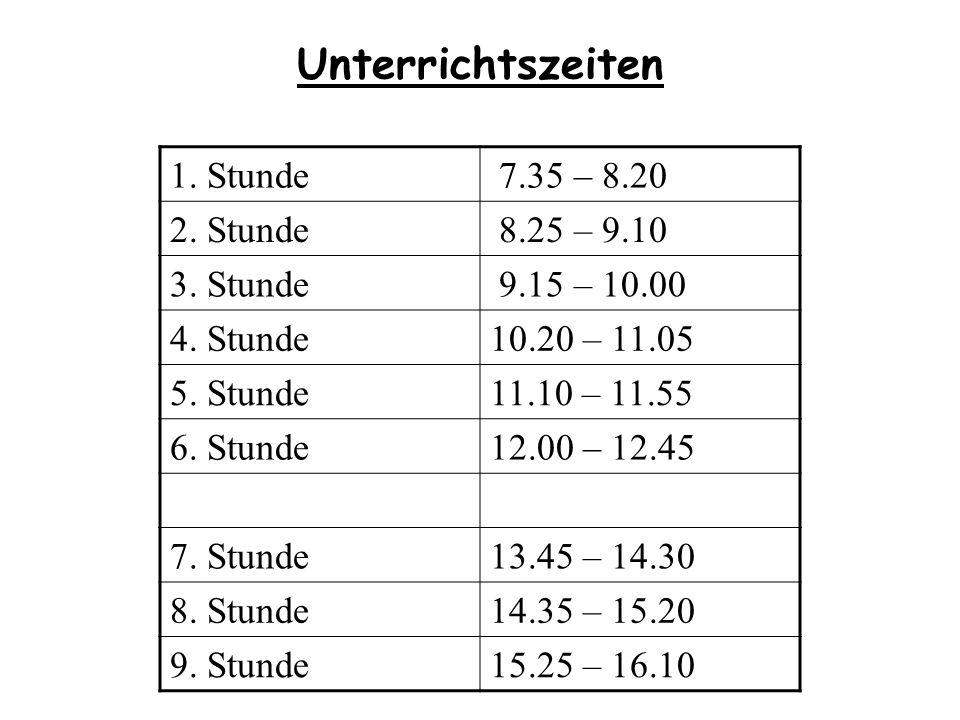 Wichtige Infos Schulanmeldung 01.04.