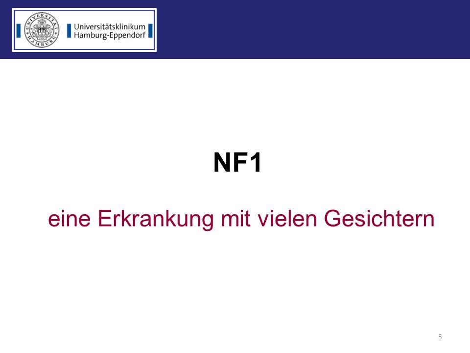 NF1 5 eine Erkrankung mit vielen Gesichtern