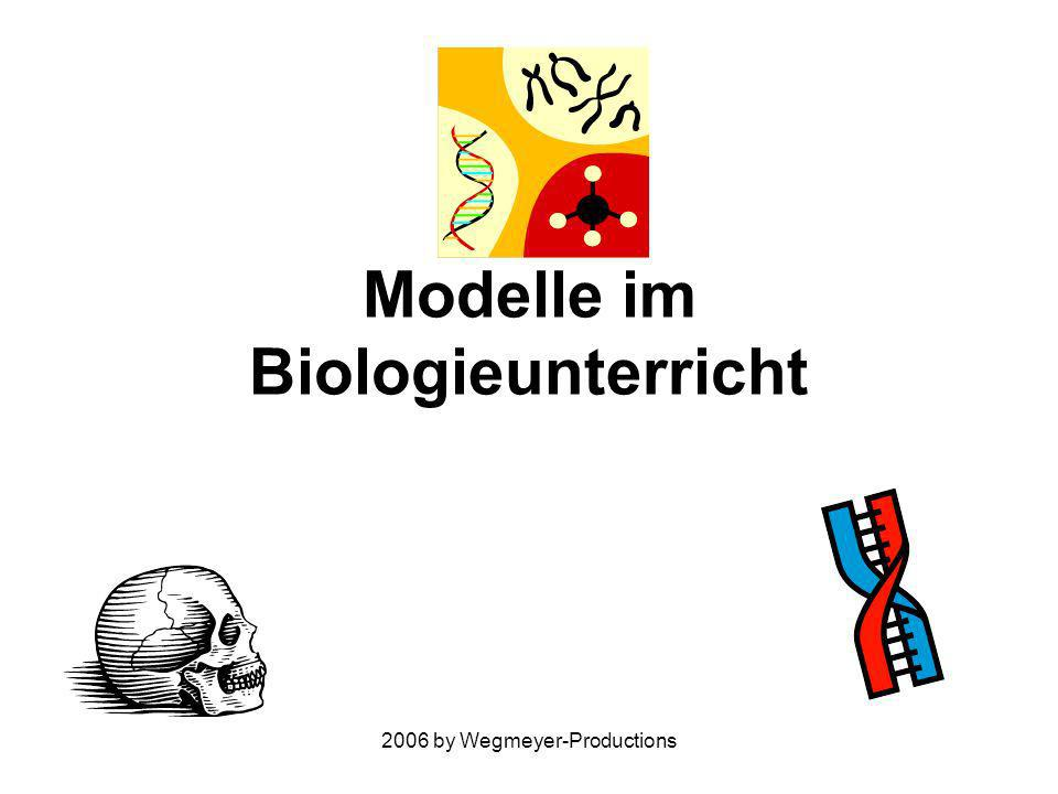 2006 by Wegmeyer-Productions Modelle im Biologieunterricht