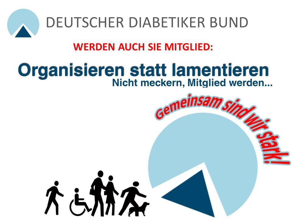 DEUTSCHER DIABETIKER BUND Projekte und Beteiligungen 6/6: Diabetes: Der eigenverantwortliche Mensch Erste Versorgungsstudie einer Patientenorganisatio