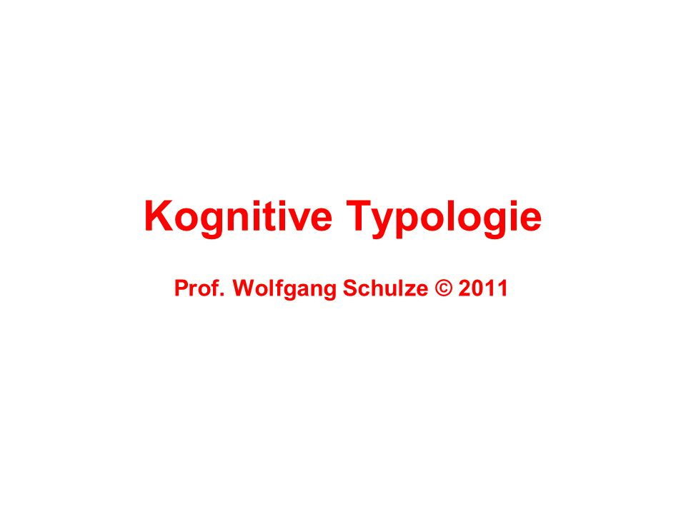 Unterbereiche der KogTyp 2.