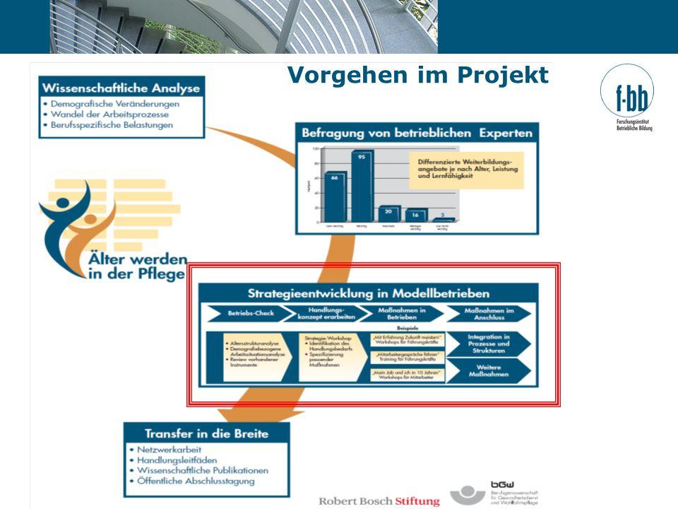 Seite 13 | Dr. Thomas Freiling | Forschungsinstitut Betriebliche Bildung (f-bb) Vorgehen im Projekt