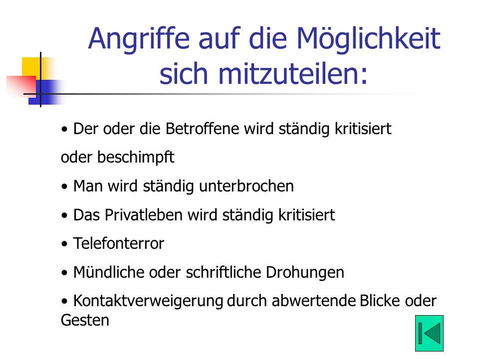 Folgen für die Volkswirtschaft (2): Durchschnittlich 25.000,00 Euro sollen die volkswirtschaftlichen Folgekosten jedes Mobbingfalls betragen.
