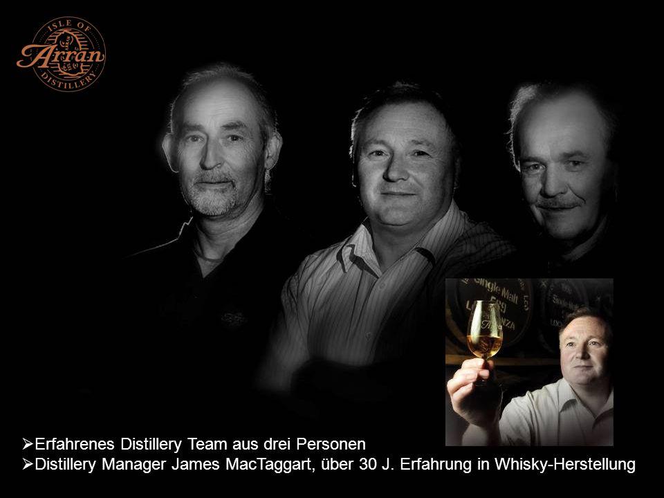 Seit 1995 ist die Distillery eine anerkannt dynamische Kraft in der Whiskyindustrie 2007 wurde die Arran Distillery zum Scottish Distiller of the Year in einer Umfrage des Whisky Magazine gewählt 2005 gewann die Distillery den Queens Award for Enterprise – höchste Auszeichnung für Unternehmen in UK