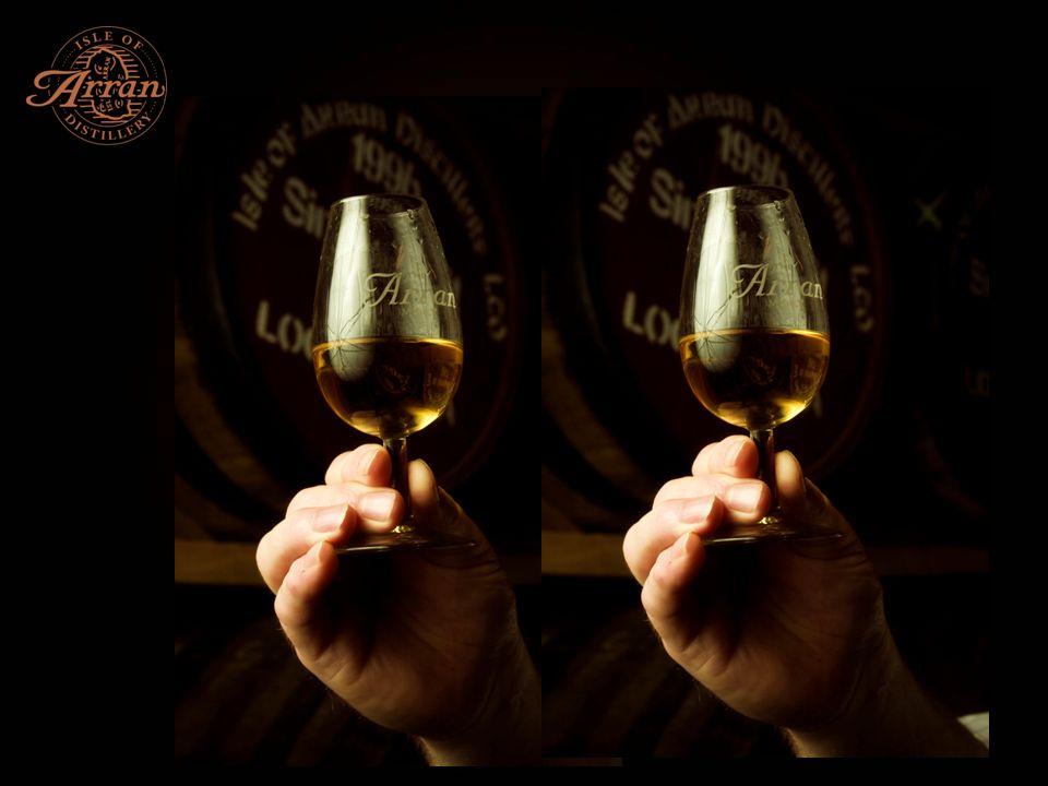 Einzige Distillery auf der Insel, eröffnet in 1995 Unabhängige schottische Distillery Erster Spirit am 29.