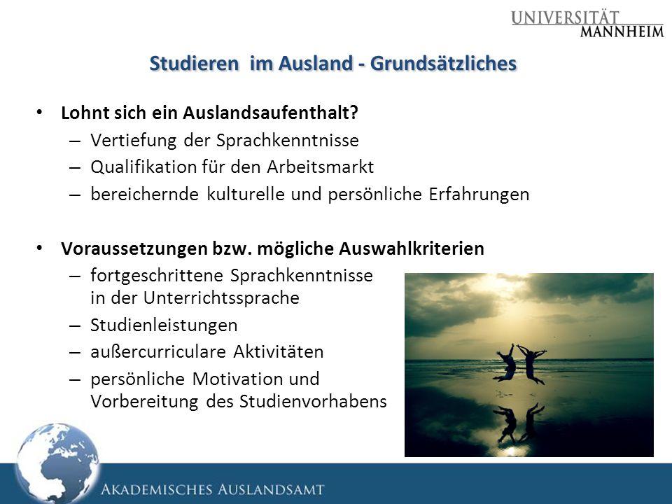 Lohnt sich ein Auslandsaufenthalt? – Vertiefung der Sprachkenntnisse – Qualifikation für den Arbeitsmarkt – bereichernde kulturelle und persönliche Er