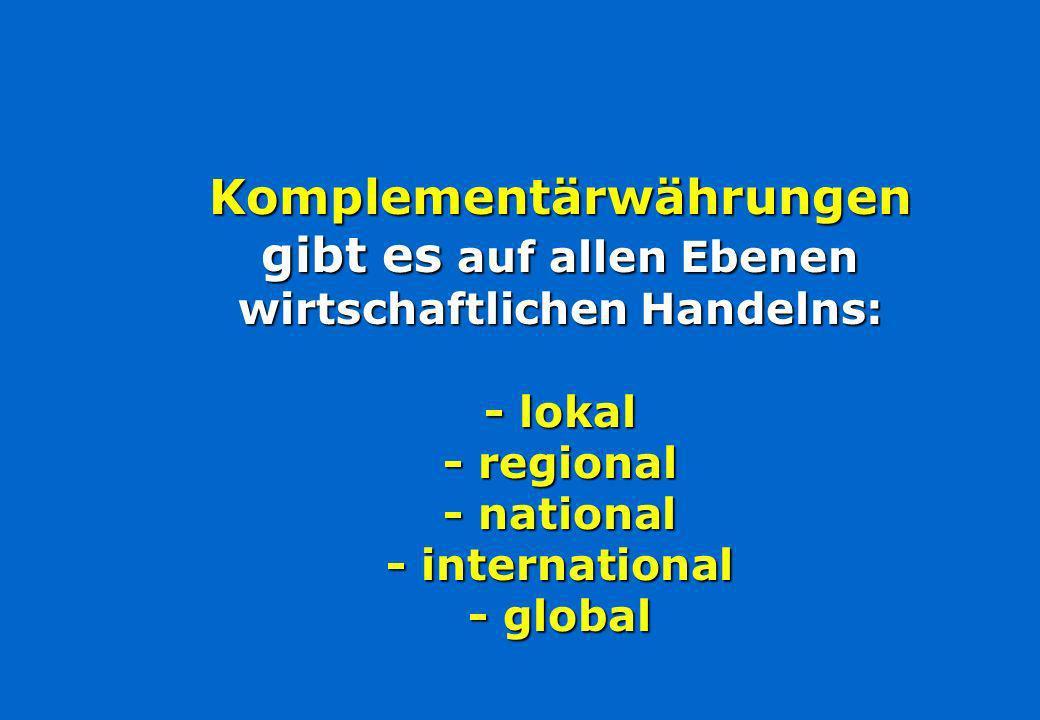 WIR-WirtschaftsRing seit 1934 bargeldloses Verrechnungssystem für kleine und mittlere Unternehmen 15 regionale schweizer WIR-Gruppen 60.000 Mitglieder